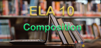 Course Image WCLN ELA10 - Composition (2 credit) - Cripps