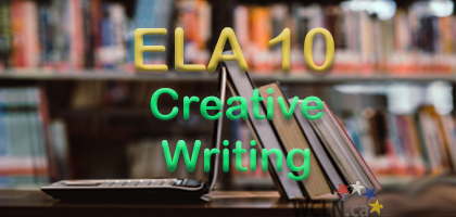 Course Image WCLN ELA10 - Creative Writing (2 credit) - Cripps