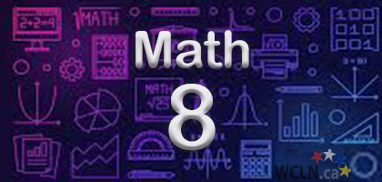 Course Image WCLN Math 8 - Whelan
