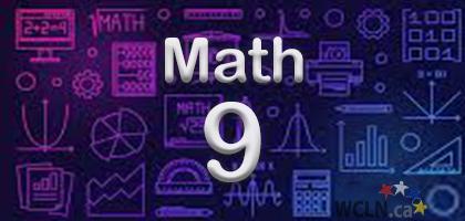 Course Image WCLN Math 9 - Whelan