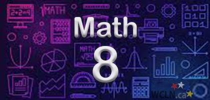 Course Image WCLN Math 8 - Douglas