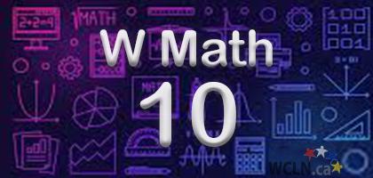 Course Image WCLN Math 10_W - Tomashewski