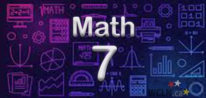 Course Image WCLN Math 7 - Warren