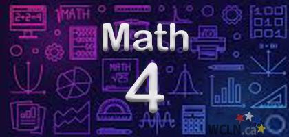 Course Image WCLN Math 4 - Whelan